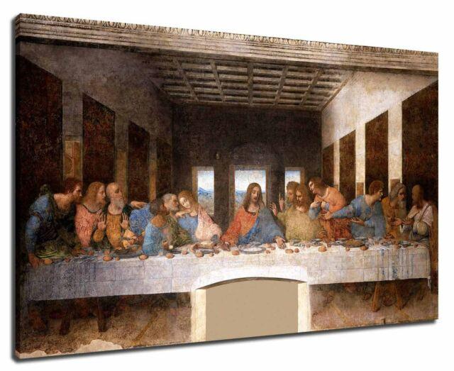 Leonardo Da Vinci The Last Supper 1495–1498 Poster Canvas Print 19