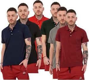 Mens-Plain-Solid-Polo-Cotton-T-Shirts-Regular-fit-Casual-Formal-Shirt-Top-M-XXL