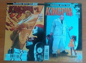 Kingpin 1 and 2  Marvel Comics 1st Prints 2 Comics - Birmingham, United Kingdom - Kingpin 1 and 2  Marvel Comics 1st Prints 2 Comics - Birmingham, United Kingdom