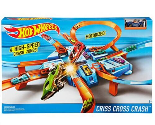 Hot Wheels Criss Cross Incidente Set Pista