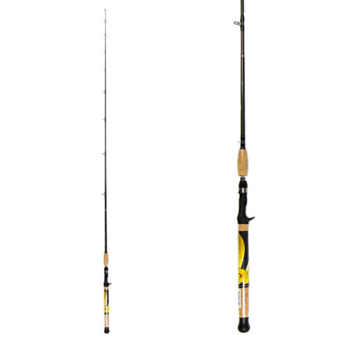 New Norsemen MWS64MC 6'4″ Casting Rod Medium Action great for windy conditions