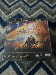 The Constitution 1000pc Jigsaw Puzzle by