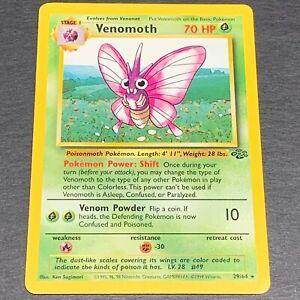 Venomoth NM Vintage Pokemon Jungle Set