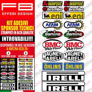 Adesivi-Stickers-Pegatinas-KIT-SPONSOR-MOTO-TECNICI-7-MOTO-GP-SBK-ALTA-QUALITA