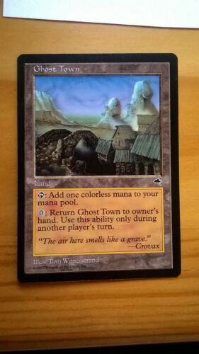MTG Tempest Ghost Town SP
