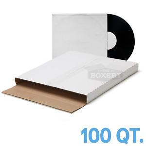 100 ~ ( PREMIUM ) LP VINYL RECORD ALBUM BOOK or BOX MAILERS
