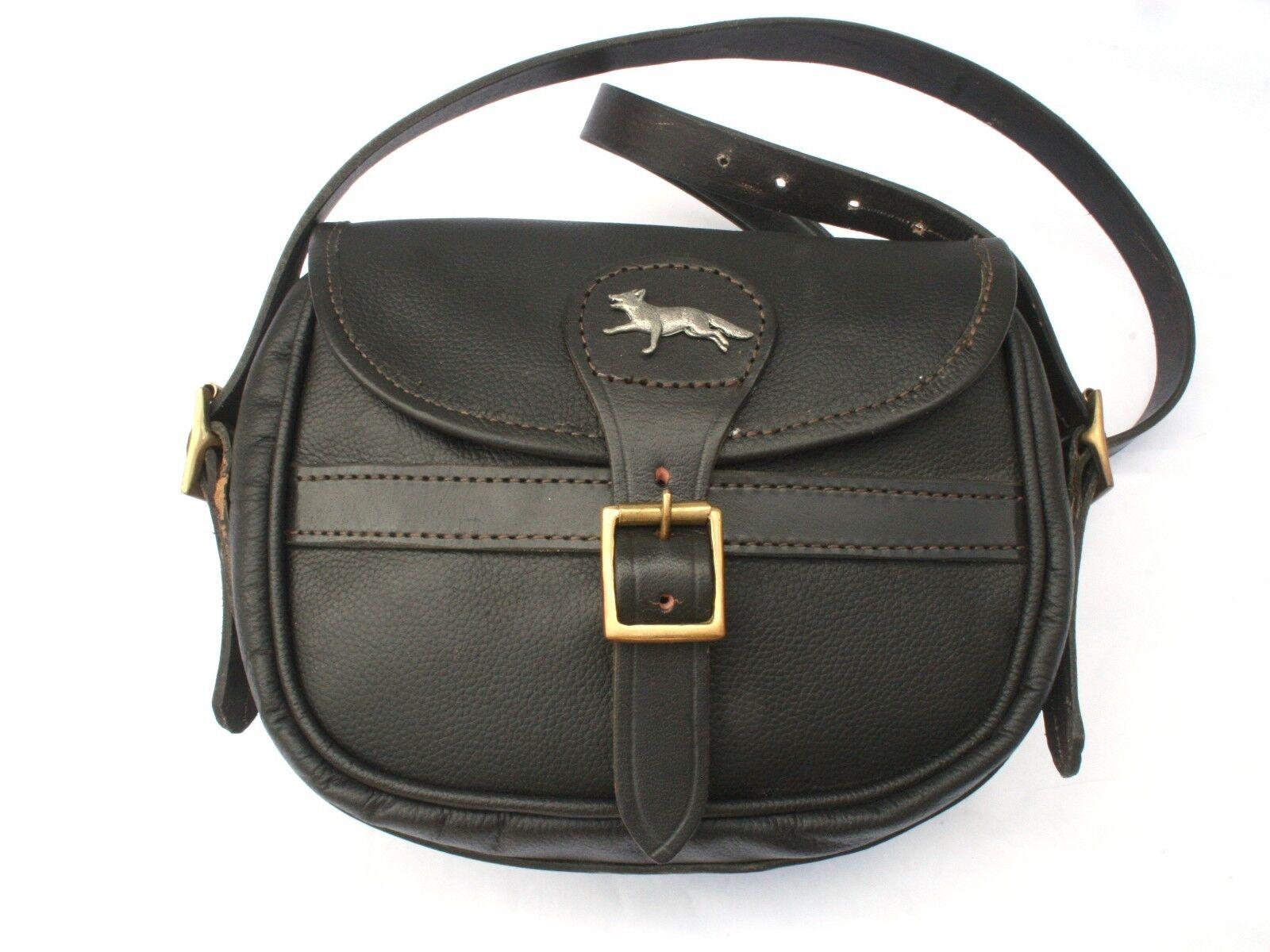 Fox Running Leather Shooting Cartridge Bag 75 Capacity Game Shooting Gift