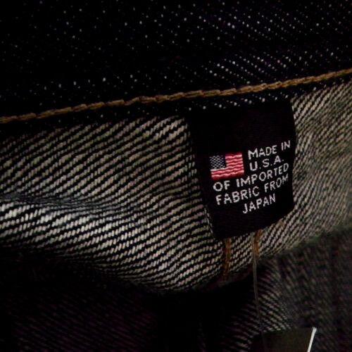 JCREW J.CREW WALLACE /& BARNES SLIM RAW RIGID STF MADE USA JAPAN SELVEDGE JEANS