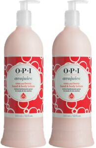 2-Pack-OPI-Avojuice-Hydrating-Hand-amp-Body-Lotion-Cran-and-Berry-32-Fl-Oz