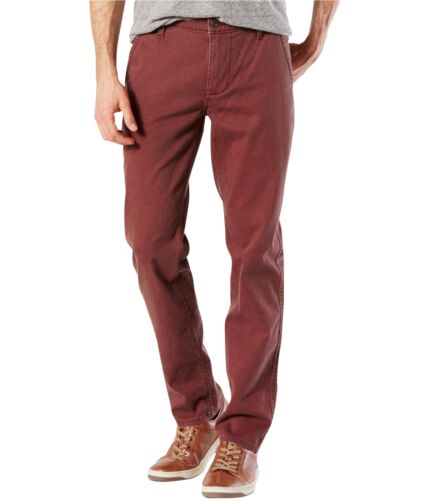 Dockers Mens Tapered Alpha Khaki Casual Chino Pants