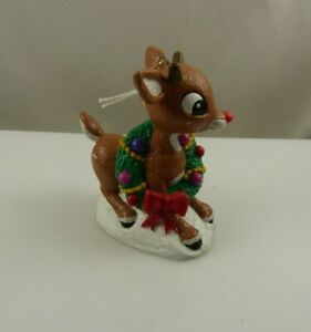 Rudolph-the-red-nosed-reindeer-wreath-Kurt-S-Adler-Christmas-ornament