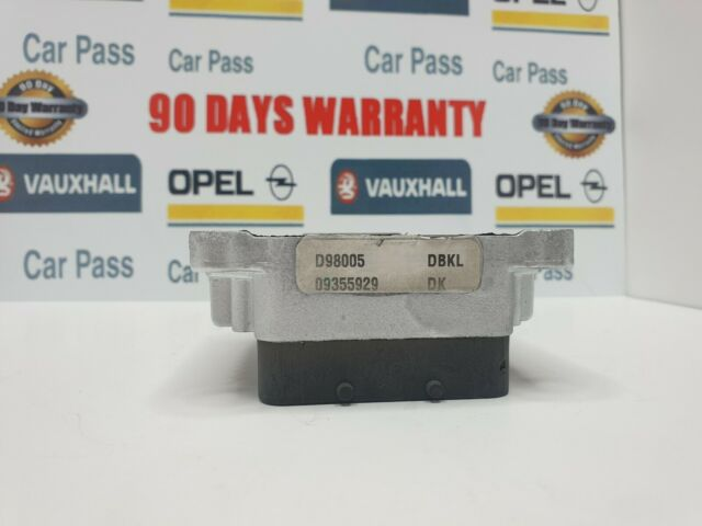 Código Pin//Tech 2 reseted Vauxhall OPEL ECU dbkl 09355929 X16XEL