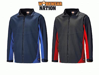 Dickies Maywood Softshell Jacket Mens Waterproof Lightweight Work Coat JW84955