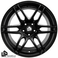 Up620 19x8.5/9.5 5x120 Matte Black Et35/33 Wheels Fits Bmw 325i 328i 330i E46