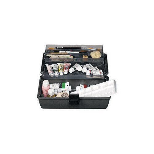 ARTBIN FLAMBEAU 8399 ARTBIN UPSCALE 2-TRAY BOX BLACK 14.5X8X7