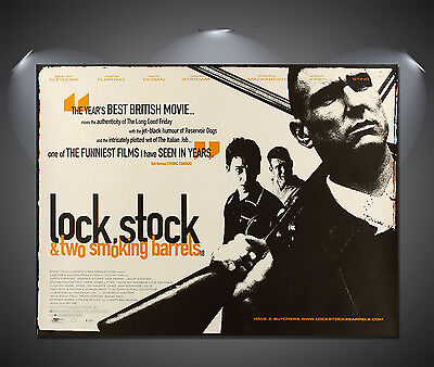 Lock Stock Vintage Movie Large Poster - A0, A1, A2, A3, A4 sizes