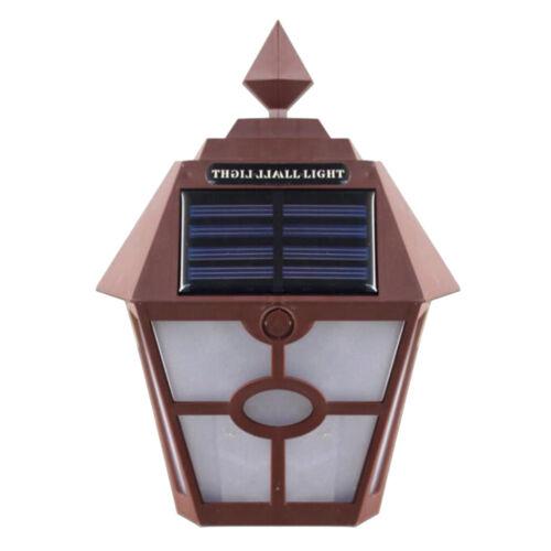 LED Solar Lights Outdoor Waterproof Garden Lamp Accent Lights Yard Wall Lanterns