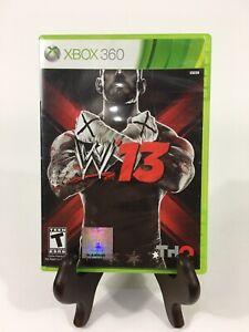 WWE-W13-Microsoft-Xbox-360-2012-FREE-SHIPPING-Complete