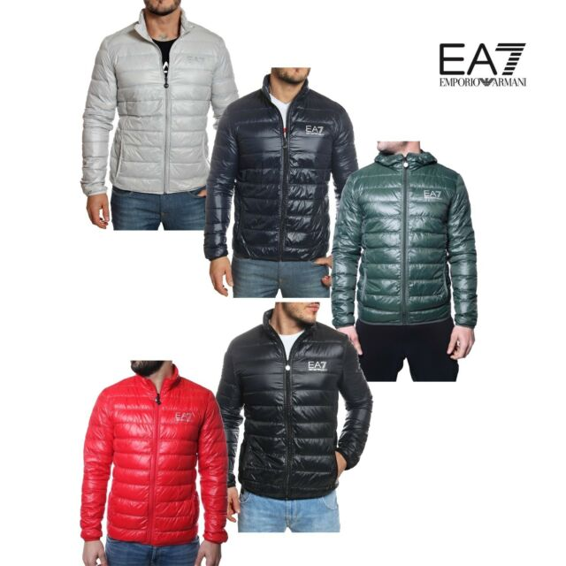 EA7 EMPORIO ARMANI down jacket giubbotto piumino uomo bomberino 100 gr 8NPB01