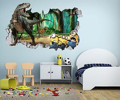 3D Green Trees 7 Wall Murals Stickers Decal breakthrough AJ WALLPAPER AU Kyra