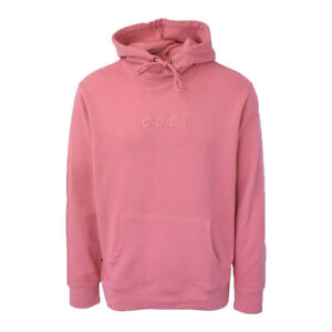 O-B-E-Y-Men-039-s-Salmon-Embroidered-L-S-Pullover-Hoodie-Retail-68