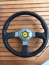 Momo Fighter steering wheel - 350mm rare yellow horn