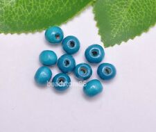200pcs charm loose bead round wood beads spacer 8mm u pick