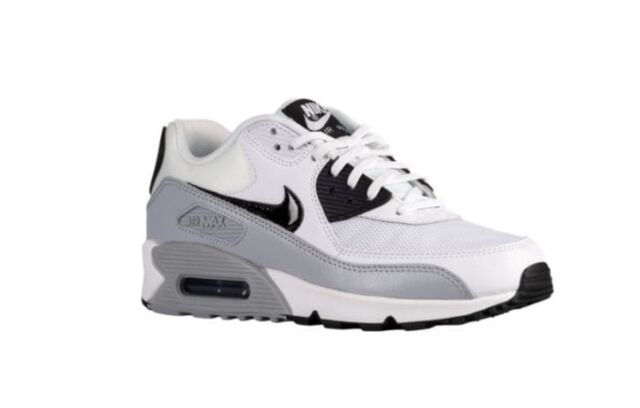 new style 89fd4 c2a27 NEW Women s Nike Air Max 90 Shoes Size  5 Color  White Gray