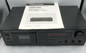 Denon-DRM-550-Stereo-Cassette-Deck-1995-Excellent-Condition-Free-Shipping
