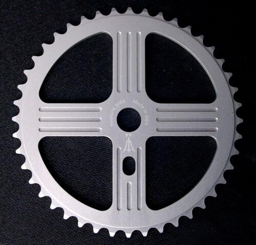 Neptune Helm BMX Aluminum Sprocket 42t Silver 19mm Chainwheel USA Made