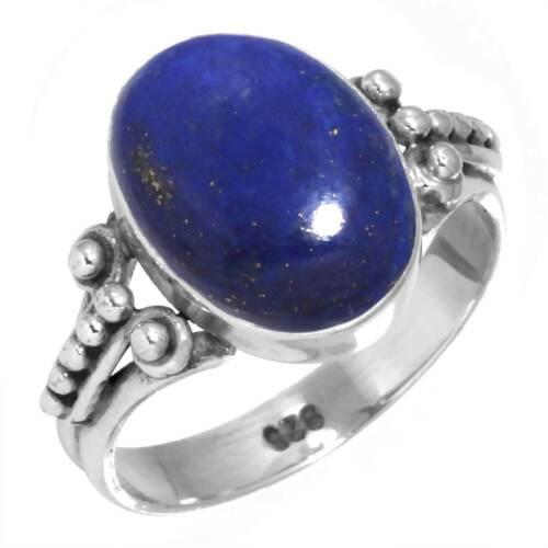 925 Sterling Silver Gemstone Ring Handmade Jewelry Size 5 6 7 8 9 10 11 12 Sj124