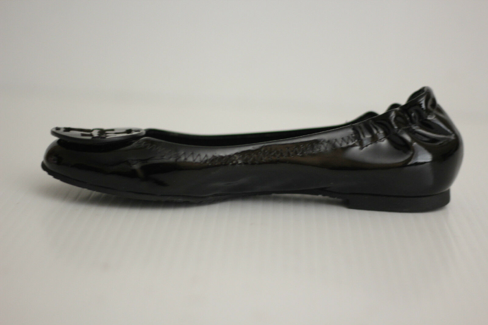 TORY TORY TORY BURCH Reva Ballerina Ballet Flats - Black Patent Leather - Size 4 M (X53) 93a2d4