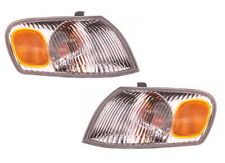 New Pair Left and Right Corner Turn Signal Lights Fits 1998-2000 Toyota Corolla