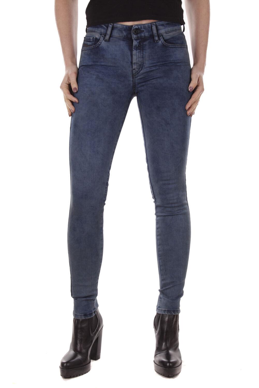 Diesel Slandy 084jn Elasticizzato Jeans Pantaloni women Diritto Sottile