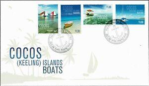 2011-COCOS-KEELING-ISLANDS-Boats-4-FDC