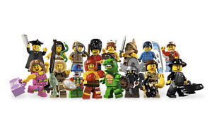 Lego-8805-Minifig-Series-5-Set-of-16-Minifigures-Repacked-Free-Registered-Mail