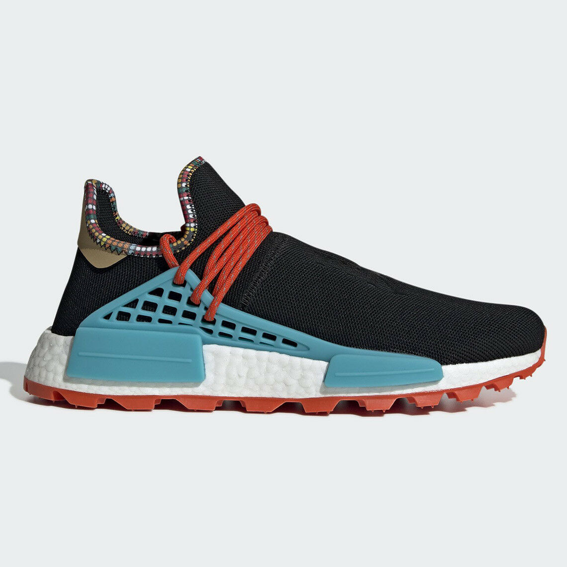 Adidas Pharrell Williams Human Race Nmd Hu Inspiration 8-13 Black bluee EE7582