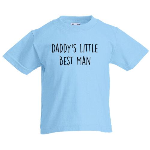 Daddys Little meilleur homme personnalisé enfant 1-15yrs Enfants T Shirt Fête des Pères