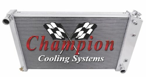 "1970 1971 1972-1978 1979 1980 1981 Camaro 3 Row AR Radiator /& 12/"" Fan Combo"