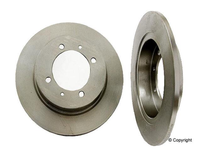 Ceramic Brake Pads Fit 2000-2004 Volvo S40 V40 Rear Drill Slot Brake Rotors