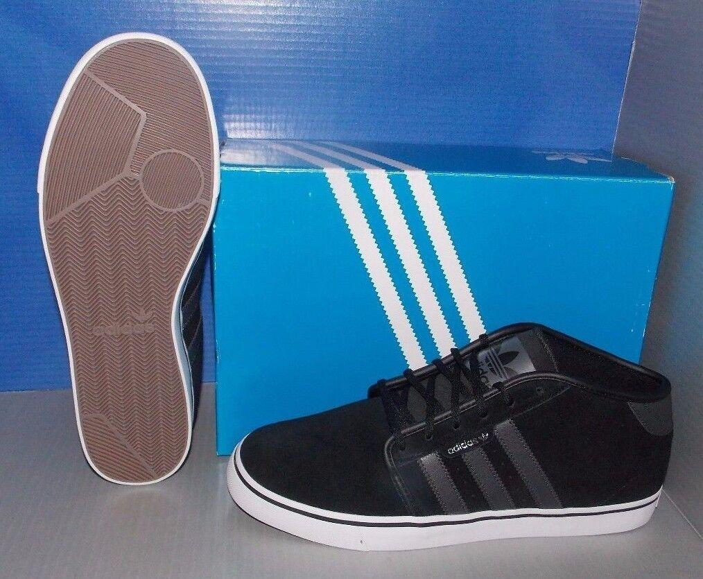 Bei adidas arbeiten mitte in den farben ftw schwarz / dgsogr / ftw farben weiße größe 9. 8f835a