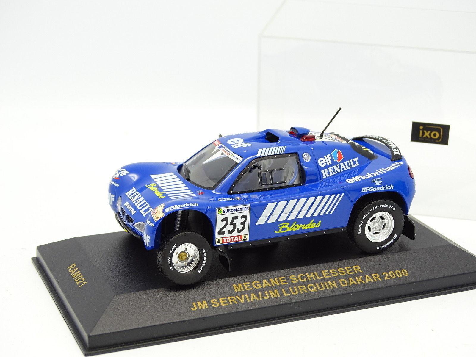 Ixo 1 43 - Megane Schlesser Paris Dakar 2000 No.253