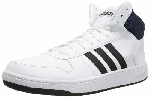 adidas hommes vs hoops baskets mi - baskets hoops couleurs d m us Blanc core 8cd0c3