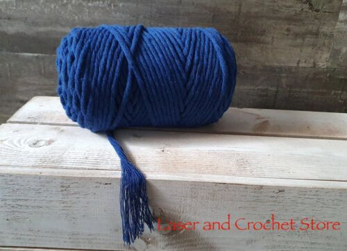 DIY Craft Home Rope 5mm Twisted Cotton Cord Macrame