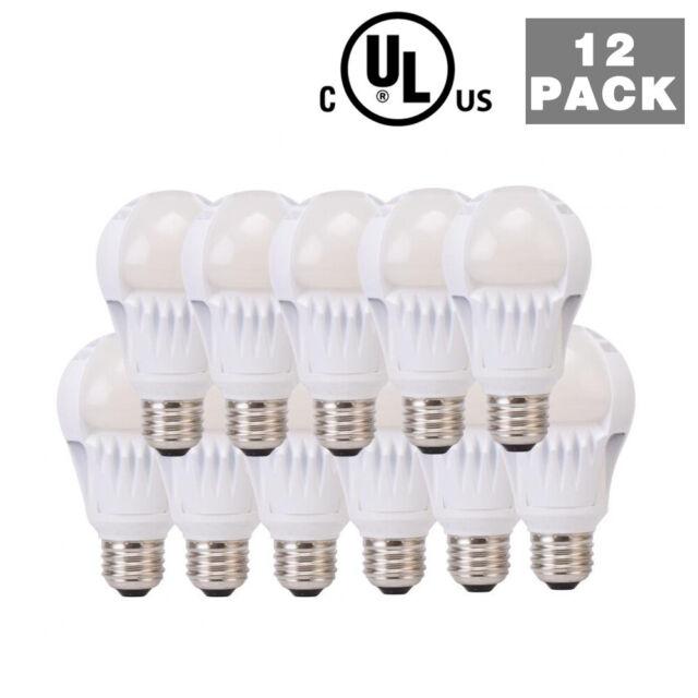 12 Pack 60 Watt Equivalent SlimStyle Soft White 2700K LED Light Bulb Lamp New