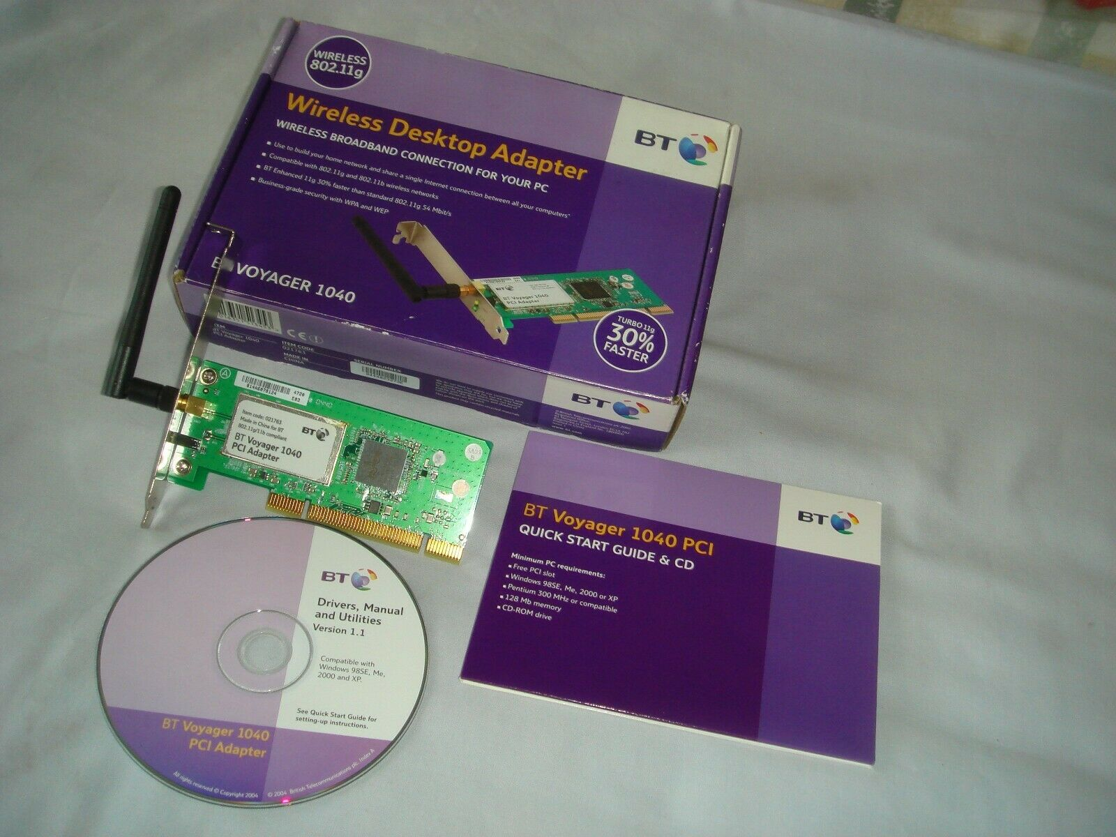BT VOYAGER 1040 PCI DRIVERS FOR WINDOWS 7