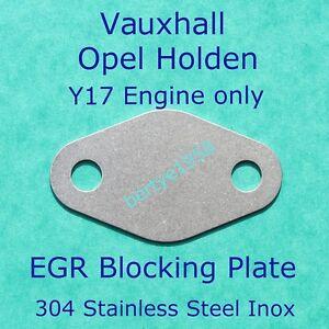 EGR-VALVE-Blanking-Plate-Vauxhall-Opel-Astra-Corsa-Combo-1-7DTL-1-7DTi-1-7Di-S-S