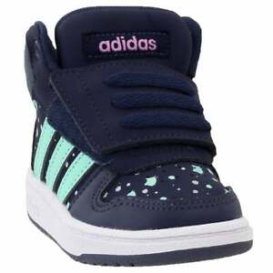 adidas-Hoops-Mid-2-0-Infant-Boys-Sneakers-Shoes-Casual-Blue-Size-4-M