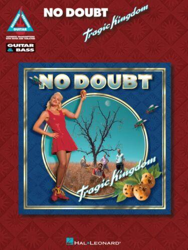 No Doubt Tragic Kingdom Sheet Music Guitar Tablature NEW 000120112