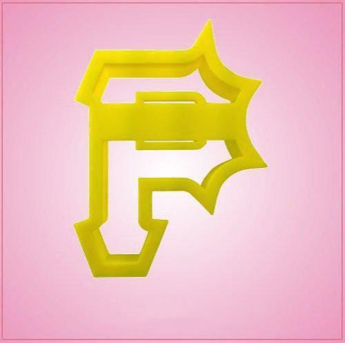Pittsburgh Letter P Cookie Cutter